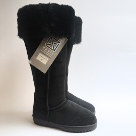 New Zealand Boots Musketeer black OUTLET