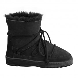 New Zealand Boots Lace boot black