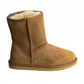 New Zealand Boots Ultra short cognac